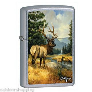 street chrome deer authentic zippo lighter made in usa more