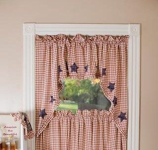 americana curtains in Curtains, Drapes & Valances