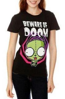 Gir Beware of Doom Black T Shirt X Large XL Vasquez Top New w/Tags