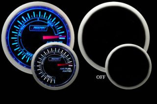 Newly listed Air Fuel Ratio Gauge ~Prosport~Blue​/White Analog *NEW*
