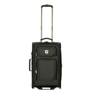 GUESS Travel Waldorf 20 2 Wheel Upright Carry On Luggage   Black