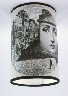 cole son fornasetti wallpaper lampshade time left $ 56 32 buy it now