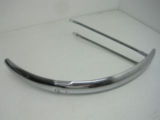 Vintage Huffy Chrome Bicycle Bike Front Fender And Brace 20