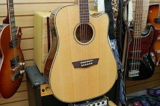 washburn acoustic electric guitar in Acoustic Electric