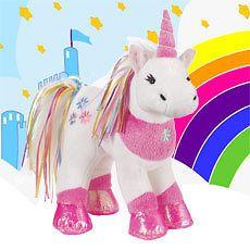 ribbon unicorn plush new webkinz please love me time left