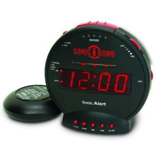 113db really very loud alarm clock bed shaker vibrator one