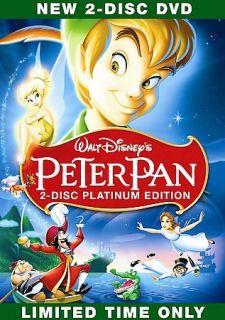 Newly listed Walt Disneys Peter Pan (DVD, 2007, 2 Disc Set, Platinum