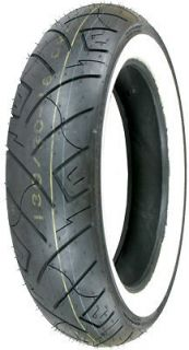 777 FRONT MOTORCYCLE TIRE 130/90 16 Whitewall Vulcan/RoadSta​r/VStar