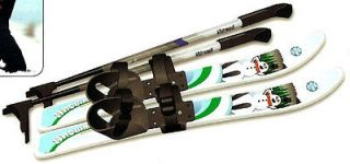 Whitewoods 70 cm Kids Cross Country Skis Scaled with Poles NEW