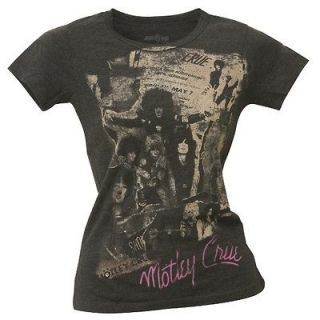 Motley Crue   Glendale Auditorium Juniors T Shirt