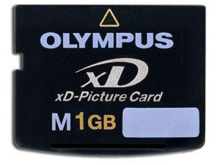 newly listed olympus xd picture card m type 1 gb