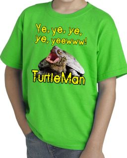 Kentucy Turtleman Ye, Ye, Yew Yell Youth T Shirt tee Youtube kids