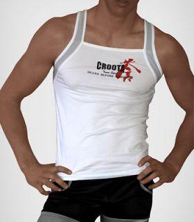 Croota Mens Tank Top, Undershirt, Casual Shirts, Square Cut (Buy