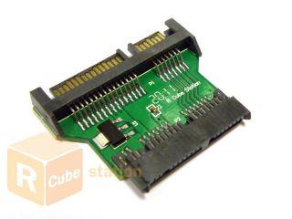 Micro SATA HDD Hard Disk Drive to SATA Adapter PCB