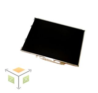 Dell Latitude D600 LCD Screen 14 1 Matte XGA Quanta QD14XL07 REV 2