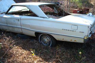 Original Mopar 1967 Dodge Coronet Left Quarter Panel