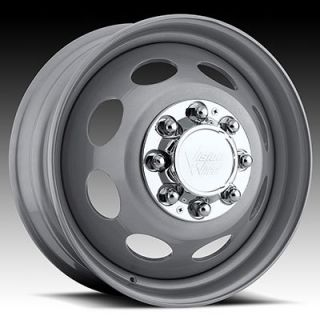 19 5 Steel Wheels Chevy GMC 8 Lug Dually