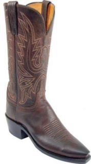 Womens 1883 by Lucchese Western Boots N4554 5 4 Chocolate Mad Dog