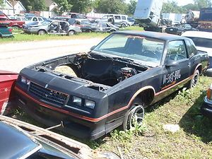 1984 1986 1987 Chevrolet Monte Carlo SS Parts Car Salvage Chevy GM OEM