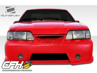 FRP 87 93 Ford Mustang GT500 Body Kit 4pc Excellent A