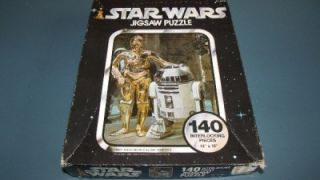 Vintage Kenner 1977 Star Wars 140pc Jig Saw Puzzle Series I Artoo