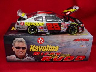 Ricky Rudd 2001 28 Havoline Bud Shootout 1 24 Scale