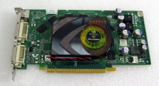 PNY NVIDIA Quadro FX 1500 256MB DDR3 Dual DVI as Is not Working