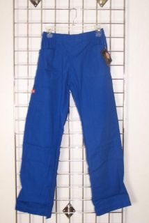 Dickies Medical 51901 Sandwashed Utility Cargo Scrub Pants Royal Blue