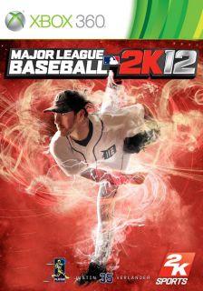 Baseball 2K12 Xbox 360 Brand New SEALED 2012 MLB 2K 12 Game