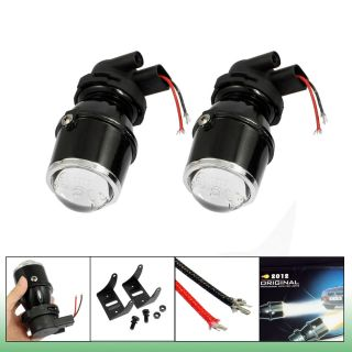 2X 12V 55W H3 Halogen Universal Fit Metal Housing Fog Light Projector