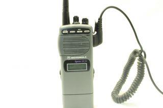 Motorola Spirit SV52CST 2 Way Radio Hand Held Portable Used