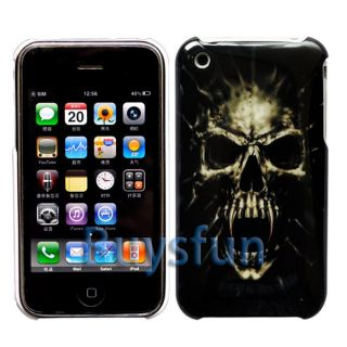 Back Cover Case Skin for Apple iPhone 3G 3GS Screen Protector