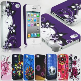 Case Ultra Thin Designer Hard Flower Cover and Screen Protector