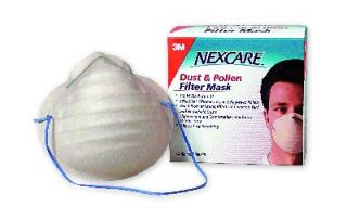 3M 2643A Nexcare All Purpose Face Mask Dust Filter X5