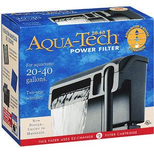 Filter Pump for 20 40 Gallon Aquariums Fish Tanks Filtration