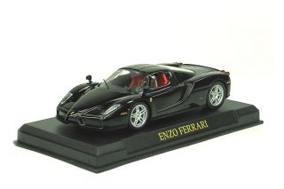 Ferrari Enzo Black Car Diecast 1 43 Official Licensed Product Serial