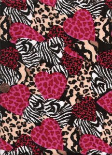 Custom Made 4U Medical Nurse Vet Scrub Top Variety of Animal Print