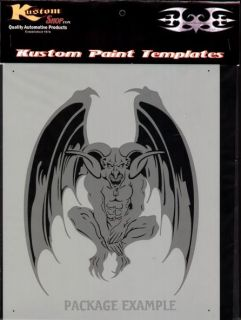 Pirate Skull 4 Airbrush Stencil Air Brush Template Art