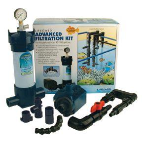 Lifegard Advanced Filtration Kit for 40 100 Gallon Aquariums