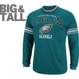 Philadelphia Eagles Big Tall Victory Pride IV Long Sleeve T Shirt