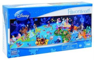 DISNEY PANORAMAS PUZZLE WORLD OF DISNEY 750 PC
