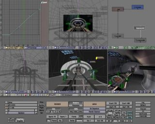 3D Animation Graphics Cartoon Game Studio Design Software