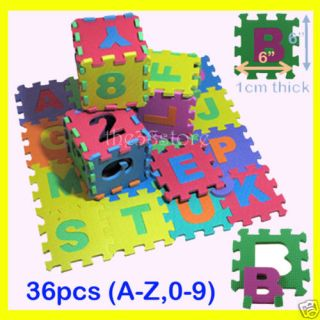Eva Educational Puzzle Foam Mat Alphabet Number 6