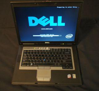 Dell Latitude D830 Laptop w Win7Pro 64 Bit OS 2GB Mem