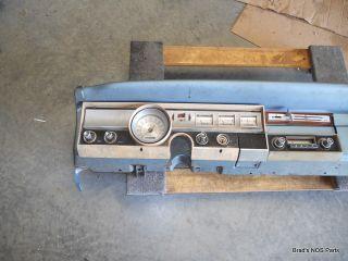 Genuine Mopar 1965 Dodge Dart Instrument Cluster Panel