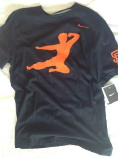 Nike Bruce Lee San Francisco Giants T Shirt M