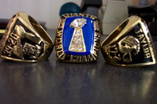 New York Giant Super Bowl Replica Ring Taylor 1986