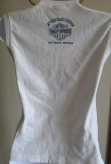 Womens HARLEY DAVIDSON Sleeveless Tank Top LARGE