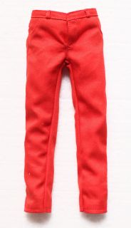 Hot Toys Michael Jackson MJ Thriller Red Slim Pants 1 6