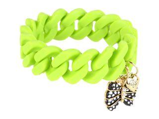 Betsey Johnson Bracelet Boost Butterfly Rubber Stretch Bracelet